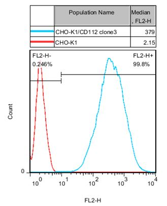 CHO-K1/CD112 Stable Cell Line